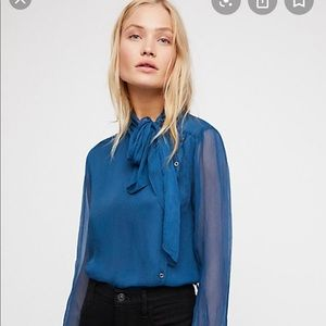 Free People Ingrid Blouse